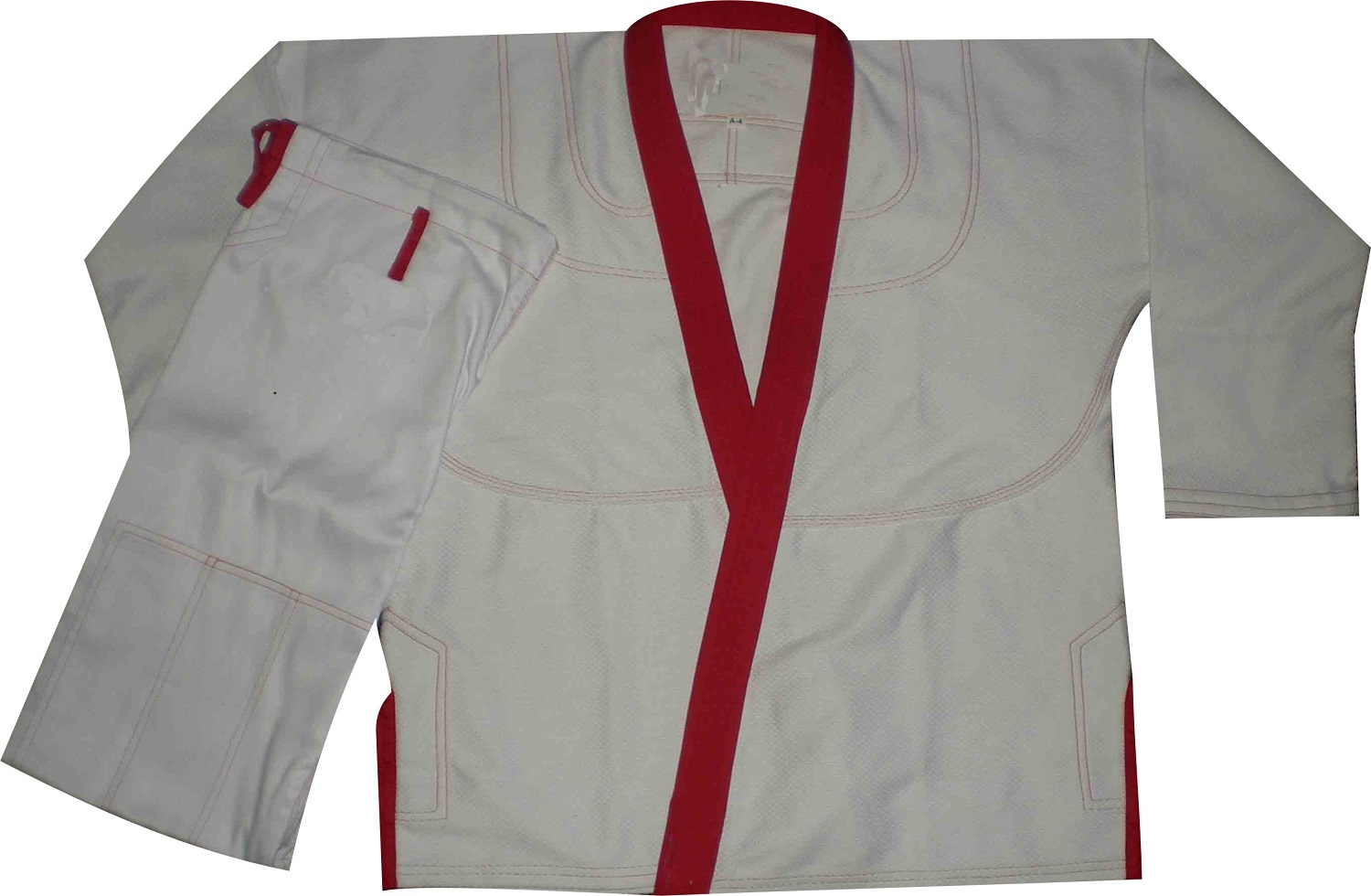 Bjj gi with Red Belt